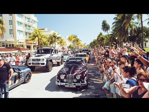Gumball 3000 Start – All the Cars of the 2014 Miami 2 Ibiza Rally – Team Betsafe