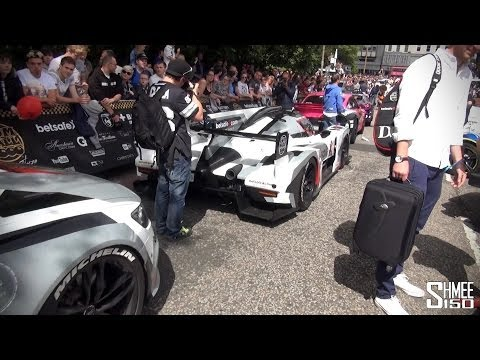 Gumball 3000 2014 Chaos in Edinburgh