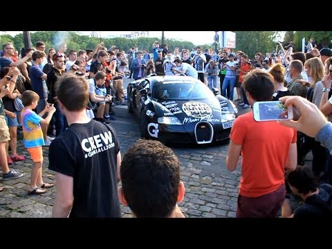 GUMBALL3000 2014 Arrival in Paris!