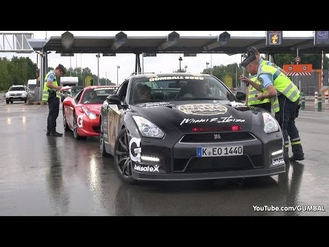 Gumball 3000 – French Police stops Gumballers!
