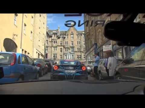 Ferrari F12 ALMOST CRASHES on Gumball 3000!