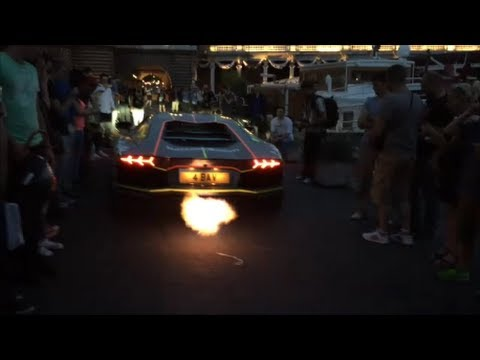 Best Of Gumball 3000 2014 – Deadmau5 , Aventador FLAMES , car CRASH and more