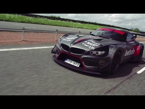 Jens Byggmark's BMW Z4 GT3 Breaks Down! – 2014 Gumball 3000 – Team Betsafe