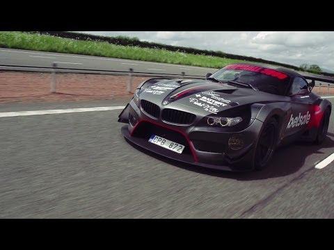 Jens Byggmark's BMW Z4 GT3 Breaks Down! – 2014 Gumball 3000 – Team Betsafe