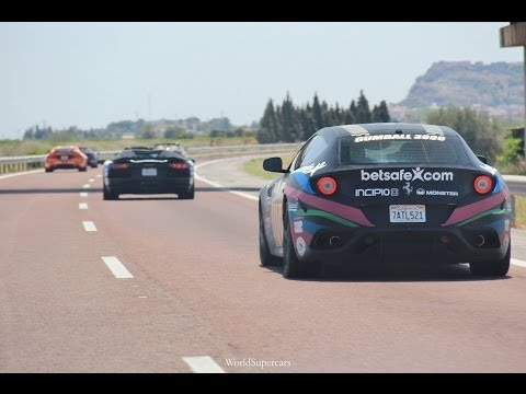 Gumball3000 2014 – Supercars & Fun Drive to Barcelona!