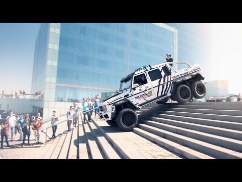 Brabus Mercedes G63 AMG 6×6 700 in the 2014 Gumball 3000 – Team Betsafe