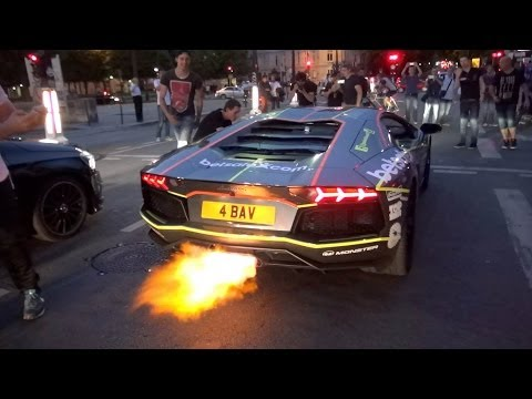 Gumball 3000 2014 – Arrivals & Departures in Paris !