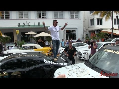 Richard Rawlings of Fast N Loud with 2015 Dodge Challenger at Gumball 3000!